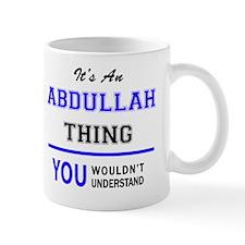 Cute Abdullah Mug