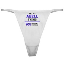 Unique Abel Classic Thong