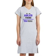 Cute Able Women's Nightshirt