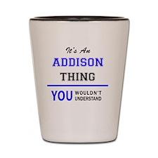 Unique Addison Shot Glass