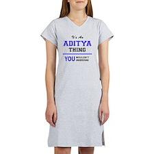 Cute Aditya Women's Nightshirt