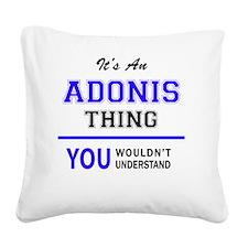 Unique Adonis Square Canvas Pillow