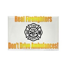 Don't Drive Ambulances Rectangle Magnet