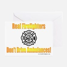 Don't Drive Ambulances Greeting Cards (Package of