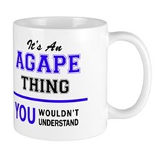 Cute Agape Mug