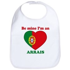Arrais, Valentine's Day Bib