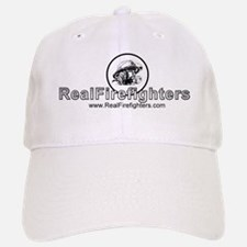 Real Firefighters Logo Baseball Baseball Cap