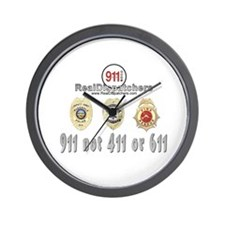 NOT 411 or 611 Wall Clock