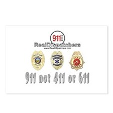 NOT 411 or 611 Postcards (Package of 8)