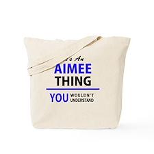 Cute Aimee Tote Bag