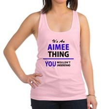 Cute Aimee Racerback Tank Top
