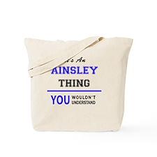 Cute Ainsley Tote Bag