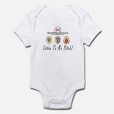 Listen To Me Bitch Infant Bodysuit