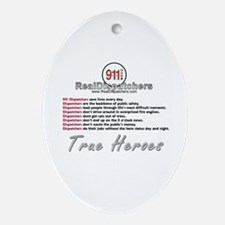 What Is A Real Dispatcher Oval Ornament