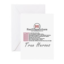 What Is A Real Dispatcher Greeting Cards (Package