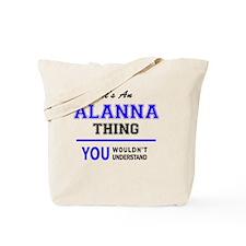 Cute Alanna Tote Bag