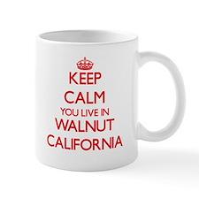 Keep calm you live in Walnut California Mugs