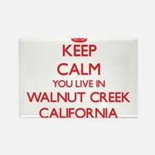 Keep calm you live in Walnut Creek Califor Magnets