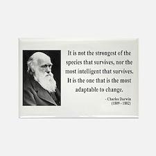 Charles Darwin 6 Rectangle Magnet