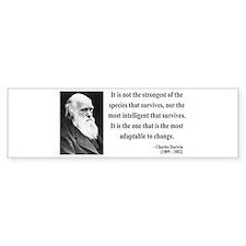 Charles Darwin 6 Bumper Bumper Sticker