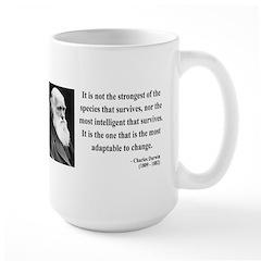 Charles Darwin 6 Large Mug