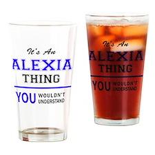 Cute Alexia Drinking Glass