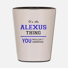 Unique Alexus Shot Glass