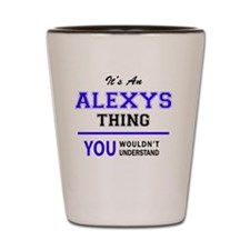Cool Alexis Shot Glass