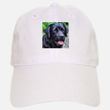Black Lab Baseball Baseball Cap