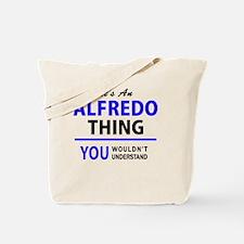 Unique Alfredo Tote Bag
