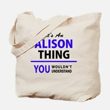 Cool Alison Tote Bag