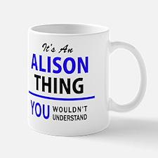Funny Alison Mug