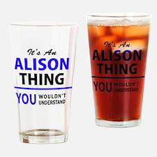 Unique Alison Drinking Glass