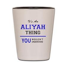 Cute Aliyah Shot Glass