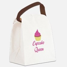 Cupcake Queen Canvas Lunch Bag