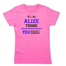 Cute Alize Girl's Tee