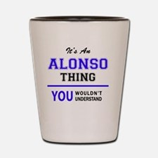 Cute Alonso Shot Glass