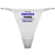 Cute Amanda Classic Thong