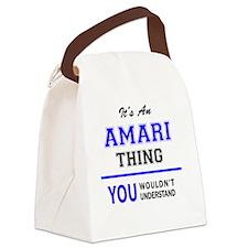 Cute Amaris Canvas Lunch Bag