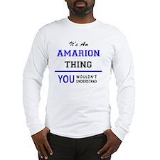 Cute Amarion Long Sleeve T-Shirt