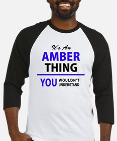 Unique Amber Baseball Jersey