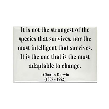 Charles Darwin 6 Rectangle Magnet (10 pack)