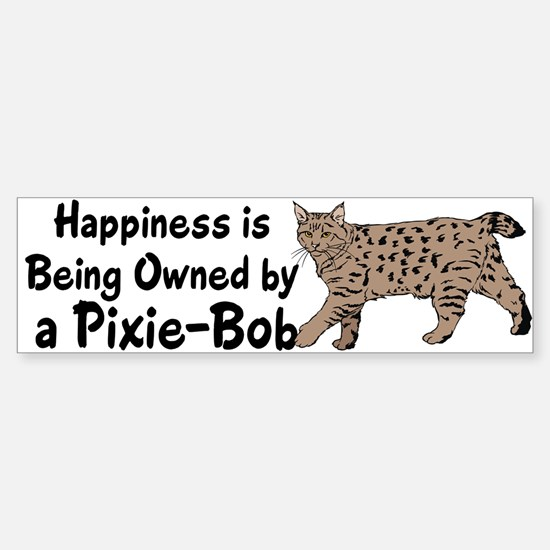Pixie-Bob (color) Bumper Car Car Sticker