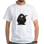 Martial Arts ninja penguin White T-Shirt