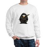 Martial Arts ninja penguin Sweatshirt