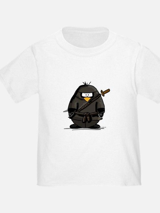 Martial Arts ninja penguin T