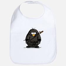Martial Arts ninja penguin Bib