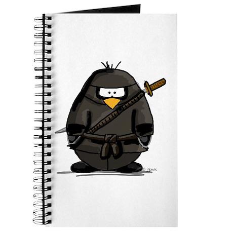 Martial Arts ninja penguin Journal