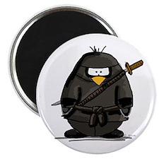 Martial Arts ninja penguin Magnet