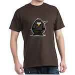 Martial Arts ninja penguin Dark T-Shirt
